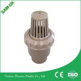 中国の価格の倍連合PVC Oujia弁Fctoryの水およびガスの高圧のためのプラスチック球弁