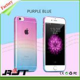 Cubierta gradualmente cambiante del teléfono móvil del color TPU para el iPhone 6s