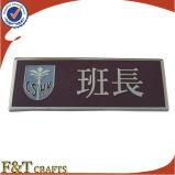 Het in reliëf gemaakte Naambord van het Metaal van het Email van het Embleem van de Douane van de School Moderne Zachte (FTNP2708A)