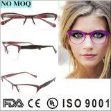 L'ultimo blocco per grafici di vetro del metallo di Fullrim degli occhiali di stili vede il blocco per grafici di Eyewear
