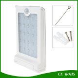 hoher Karosserien-Fühler-Solargarten-Wand-Lichter der Helligkeit-300lm für im Freiengebrauch