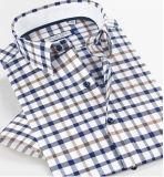 Camisa del verano del Mens del algodón de la alta calidad
