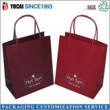 Bolsas de papel modificadas para requisitos particulares promocionales para las compras