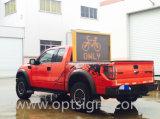 LEIDENE van het Verkeer van Optraffic AmberTekens Vrachtwagen Opgezette Vms