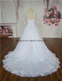 Платье венчания шнурка длинней втулки Musilm белое от поставщика Гуанчжоу