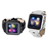 Androide intelligente Uhr GPS-Bluetooth mit WiFi 3G SIM Karte