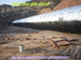 Pipa de acero acanalada de la asamblea de la fuente