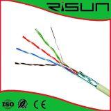 Испытание двуустки прошло CE RoHS ISO9001 FTP кабеля LAN Cat5e качества