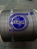 스테인리스 철사 밧줄 7*19-0.5 0.8 1 1.2 1.5 2 3 3.2 4 4.8 5 6 6.35 8 9 9.53 10mm