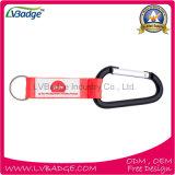 Qualität kundenspezifische Drucken-Abzuglinie mit Carabiner für Geschenk
