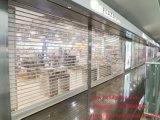 Китайское изготовление прозрачной двери штарки завальцовки поликарбоната (PC 2)