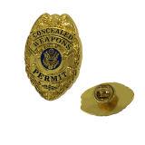 Insigne fait sur commande de Pin en métal de vente bon marché de cadeaux de souvenir