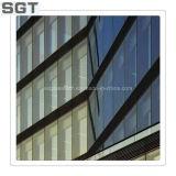 Прокатанное стекло для конструкции & экран с пленкой Ce покрашенной или ясность от Sgt