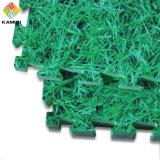Les couvre-tapis de verrouillage bon marché de mousse d'herbe