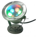 FountainsのためのDC12V DMX RGB LED 6W Round Outdoor Underwater LED Lights