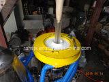Máquina soplada película doble del PE de la protuberancia del tornillo