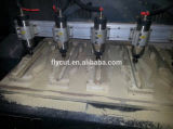 3D CNC 대패 기계 기계를 새기는 추가 스핀들
