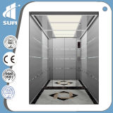 기계 Roomless Stainless Steel Cabin Speed 1.5m/S Passenger Lift