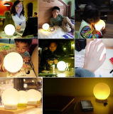 Portable Smart Bluetooth Speaker Lamp com luz LED