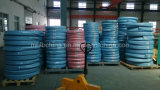 Le fil d'acier a tressé le boyau hydraulique couvert par caoutchouc renforcé (SAE100 R2at-19)/boyau en caoutchouc