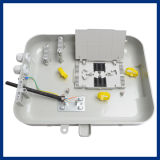 Fdb 4port Cable Bending 2 PortのパソコンABS Pls 1*16 Splitter FTTH Outdoor Optical Fiber Distribution Box