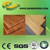 Plancher en bambou tissé par brin populaire de tigre