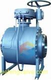 3PC a modifié le robinet à tournant sphérique métal sur métal de portée