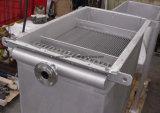 Cambista de calor da recuperação de calor do desperdício do gás de conduto da concentração de poeira