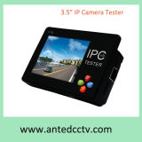 """Probador del CCTV de la cámara del IP de Onvif del monitor del LCD del Wristband Handheld 3.5 """" con el Poe"""