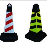 Orange Safety Traffic PVC Folded Cone für Roadway