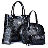 Signora stabilita Handbag della donna del progettista dell'unità di elaborazione di brevetto del sacchetto composito di PCS di modo 4