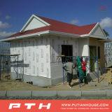 Projet en acier léger d'hôtel de villa de la Mozambique