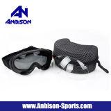 Procès noir et blanc de lentille de lunettes en bon état de ski de Fma Airsoft d'Anbison-Sports