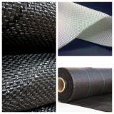 Filamento lungo bianco della fibra del geotessuto tessuto poliestere