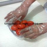 PE van de Rang van het voedsel Duidelijke Beschikbare Plastic Handschoenen