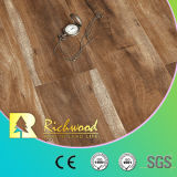 비닐 Plank 12.3mm E1 Parquet Hand Scraped U-Grooved Laminate Wood Flooring