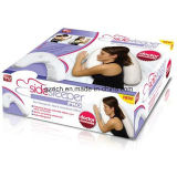 PRO oreiller de soutien de taille d'oreiller de sommeil de côté d'oreiller de dormeur latéral