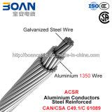 ACSR, acero de aluminio de los conductores reforzado (CAN/CSA C49.1/C 61089)