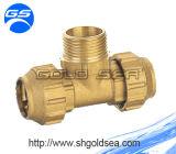 L'Espagne Brass Compression Fittings pour le PE Pipe