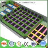 Trampoline Type Indoor Amusement Trampoline Park com Electronic Games