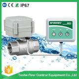 Домашняя польза с автоматической аварийной системой детектора обнаружения утечки воды отключенных клапанов