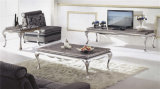 Sale를 위한 870# 정연한 Marble Top Stainless Steel Coffee Table
