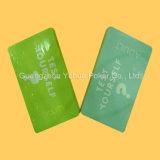 Kundenspezifische Kasino-Kartenspiel-Plastikspielkarten mit Qualität