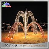 Luzes decorativas novas da fonte do diodo emissor de luz da decoração ao ar livre do motivo do feriado