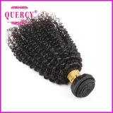 Quercyの毛の最上質8A等級の加工されていない100%年のバージンのブラジルのねじれたカーリーヘアー