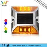 Blinkender 3m Reflektor-Sonnenenergie-Straßen-Stift des Cer-anerkannter Gelb-LED