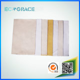 Высокотемпературная упорная ткань 100% фильтра Nomex меты для завода асфальта