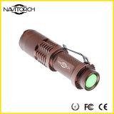 Wasserdichte LED Fackel des vorbildlichen teleskopischen des Fokus-3 Abenteuer-(NK-628)