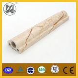 Bordage de marbre et ligne de frontière artificiels beiges