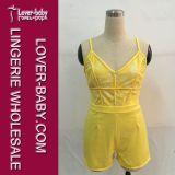 Vestido del verano del mono ropa casual Mujer (L55199-3)